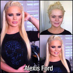 alexis-ford-makyajsiz
